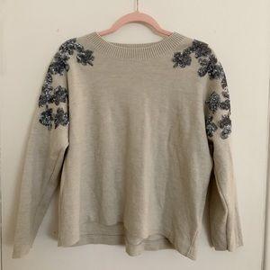 J crew sequin sweater